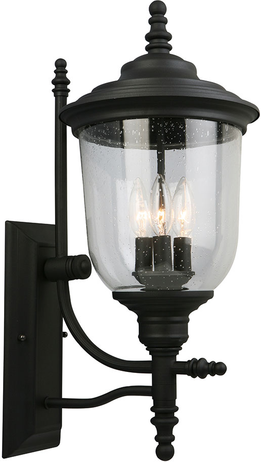 Eglo 202801a pinedale matte black outdoor lighting sconce egl 202801a eglo 202801a pinedale matte black outdoor lighting sconce loading zoom workwithnaturefo