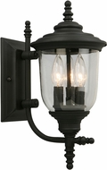 EGLO 202803A Pinedale Matte Black Outdoor Wall Sconce Lighting