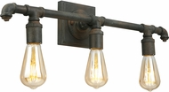 EGLO 202842A Wymer Modern Zinc 3-Light Lighting For Bathroom