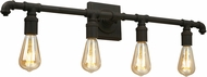 EGLO 202843A Wymer Contemporary Matte Bronze 4-Light Bath Lighting