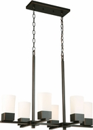 EGLO 202856A Ciara Springs Modern Oil Rubbed Bronze Kitchen Island Light