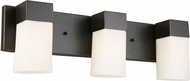 EGLO 202863A Ciara Springs Contemporary Oil Rubbed Bronze 3-Light Vanity Lighting