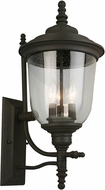 EGLO 202875A Pinedale Matte Bronze Outdoor Wall Sconce Light