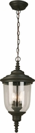 EGLO 202879A Pinedale Matte Bronze Outdoor Drop Ceiling Lighting