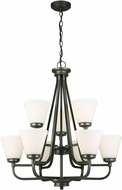 EGLO 202902A Mayview Graphite Chandelier Light