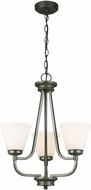EGLO 202903A Mayview Graphite Mini Ceiling Chandelier