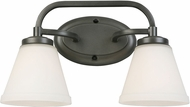 EGLO 202909A Mayview Graphite 2-Light Vanity Light