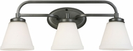 EGLO 202911A Mayview Graphite 3-Light Bath Light Fixture