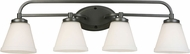 EGLO 202912A Mayview Graphite 4-Light Bath Lighting Fixture