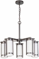 EGLO 203116A Truxton Contemporary Graphite Chandelier Light