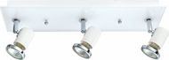 EGLO 31263A Tamara 1 Contemporary White & Chrome Halogen Bathroom Lighting