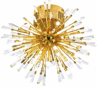 EGLO 31512A Vivaldo Gold Plated Halogen 20  Ceiling Lighting Fixture
