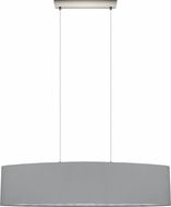 EGLO 31617A Maserlo Modern Satin Nickel Kitchen Island Light
