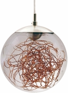 EGLO 49897A Valenca Contemporary Chrome LED Ceiling Pendant Light