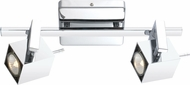 EGLO 90523A Manao Modern Chrome Halogen 2-Light Track Lighting Kit