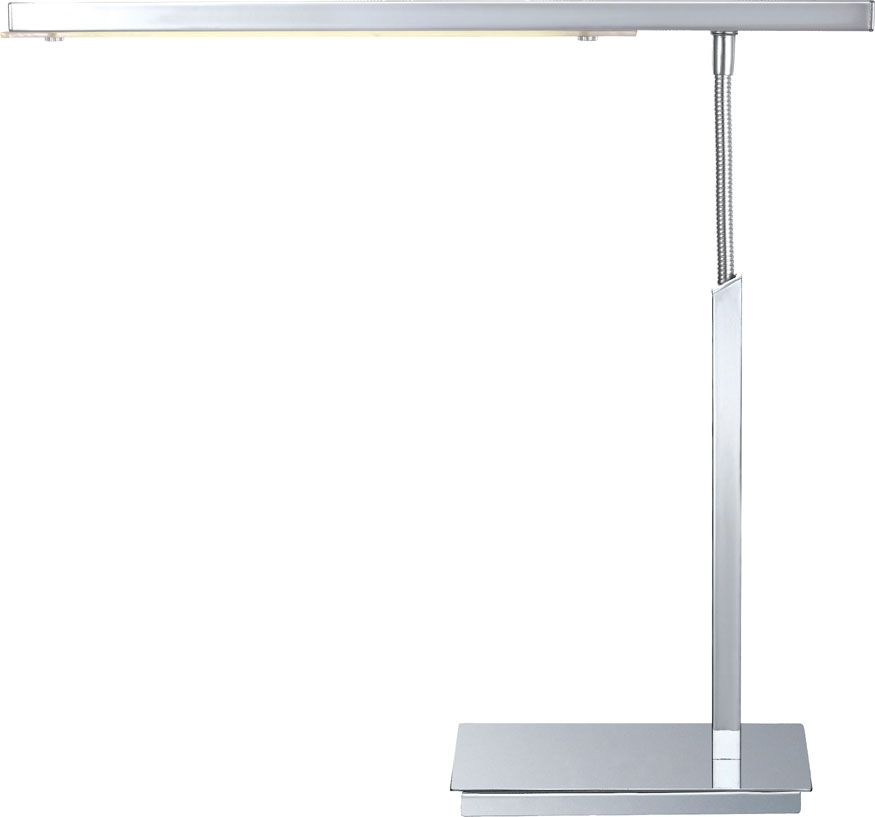 eglo 90768a pan modern chrome led desk lamp loading zoom
