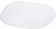 EGLO 92268A LED Beramo Contemporary White LED Flush Mount Lighting