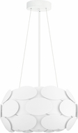 EGLO 92756A Montorio Contemporary White Ceiling Light Pendant