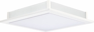 EGLO 92779A LED Auriga Contemporary White LED Flush Ceiling Light Fixture