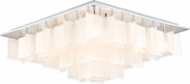 EGLO 92813A Condrata Contemporary Chrome Halogen Overhead Light Fixture