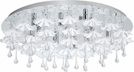 EGLO 93071A Ocondo Chrome Halogen Ceiling Light