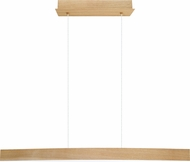 EGLO 93342A Fornes Modern Oak Effect LED Kitchen Island Lighting