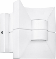 EGLO 93367A Redondo Modern White LED Exterior Light Sconce