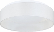 EGLO 93386A Palomaro Contemporary White Fabric LED 12.5  Ceiling Light Fixture