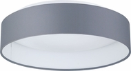 EGLO 93395A Palomaro Modern Black Fabric LED 12.5  Overhead Lighting