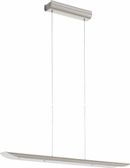 EGLO 93566A Zubia Contemporary Chrome LED Kitchen Island Light