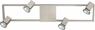 EGLO 93678A Zeraco Modern Satin Nickel Halogen Vanity Lighting