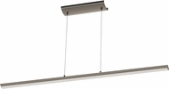 EGLO 93896A Pellaro Contemporary Matte Black LED Kitchen Island Lighting