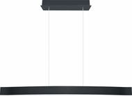 EGLO 93909A Fornes Modern Black/Chrome LED Island Light Fixture