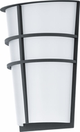 EGLO 94138A Breganzo Modern Anthracite LED Outdoor Lighting Wall Sconce