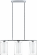 EGLO 94378A Loncino 1 Modern Chrome Kitchen Island Light Fixture