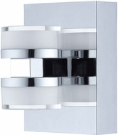 EGLO 94651A Romendo Contemporary Chrome LED Wall Light Fixture