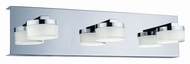EGLO 94653A Romendo Modern Chrome LED Vanity Lighting