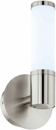 EGLO 95143A Palmera 1 Contemporary Satin Nickel LED Vanity Light