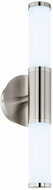 EGLO 95144A Palmera 1 Modern Satin Nickel LED Bath Light Fixture