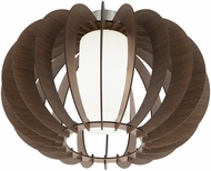 EGLO 95589A Stellato 3 Contemporary Dark Brown Overhead Lighting