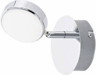 EGLO 95628A Salto Contemporary Chrome LED Wall Mounted Lamp
