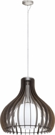 EGLO 96218A Tindori Modern Dark Brown 23.625  Drop Lighting