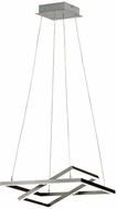 EGLO 96814A Tamasera Contemporary Matte Nickel LED Hanging Pendant Light