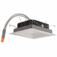 Elco E520LW Contemporary White 5  LED Light Engine with Reflector Trim Recessed Lighting Fixture