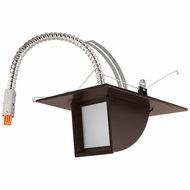 Elco E523L11BZ Contemporary Bronze 5  Adjustable Pull Down LED Light Engine Recessed Lighting