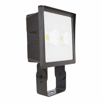 Elco EFL70L Dark Bronze LED Interior / Exterior 70 Watt Large Floodlight