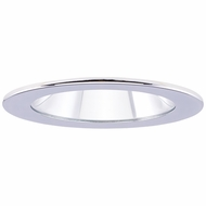 Elco EL1411C Contemporary Chrome 4 Adjustable Shower Recessed Lighting Trims With Clear Lens