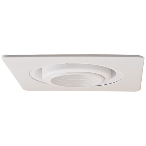 Recessed Lighting Elco : Elco el ww modern white quot gimbal ring recessed