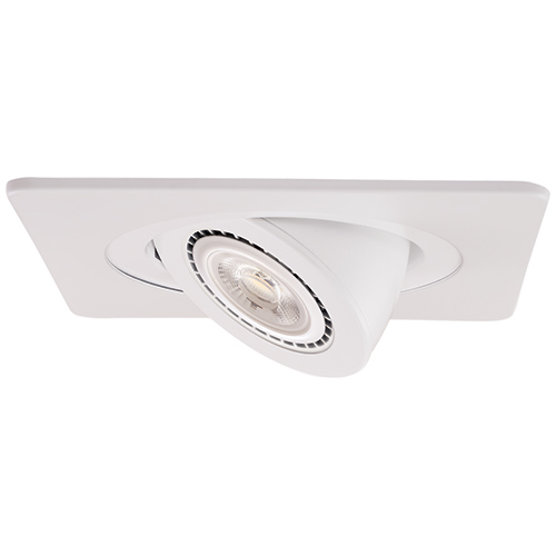 Elco el2488w contemporary white 4 die cast adjustable square elco el2488w contemporary white 4nbsp die cast adjustable square recessed lighting trim loading zoom aloadofball Image collections