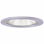 Elco EL2621CN Contemporary Clear with Nickel Medium Base 3  Halogen Line Voltage Recessed Light Die Cast Adjustable Reflector Trim